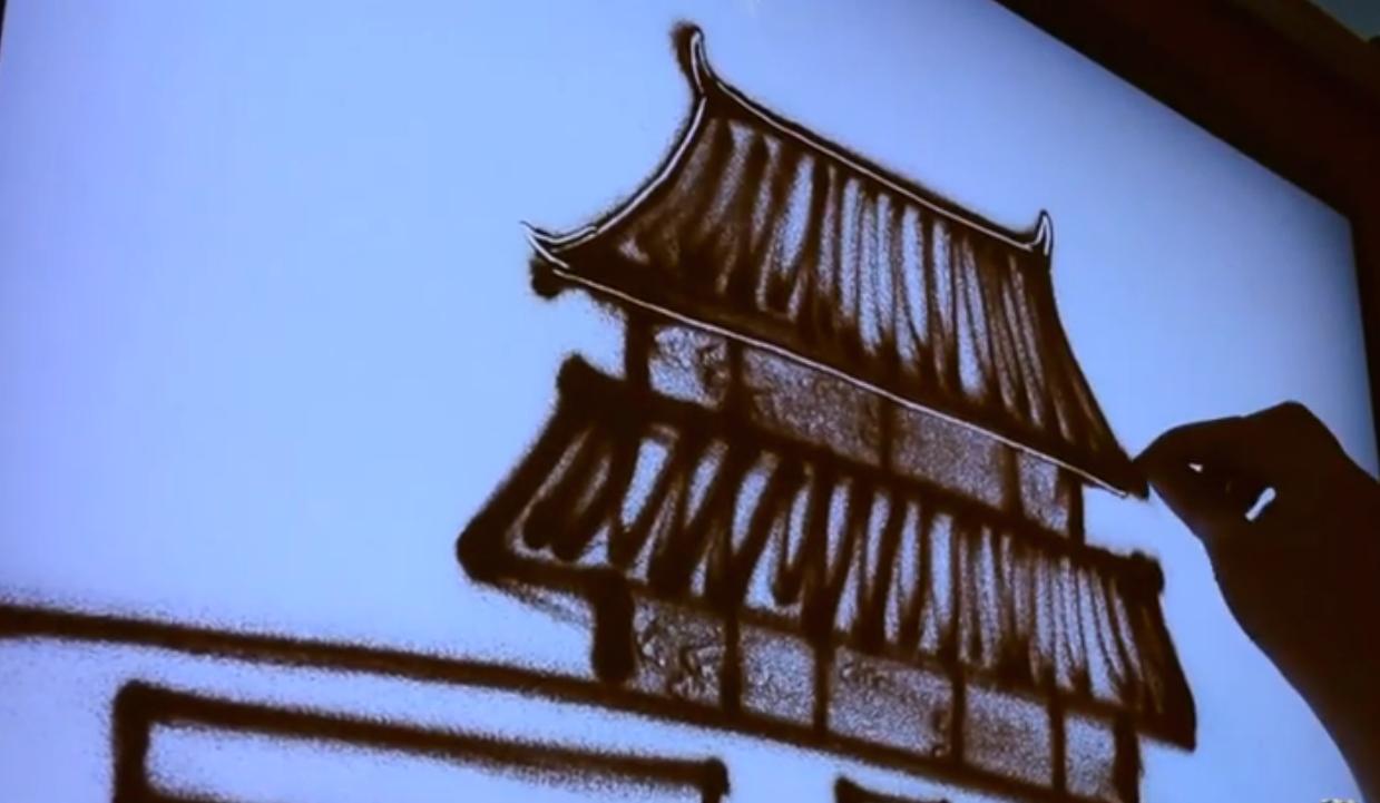 新印象沙画视频教程初中高三套课程(学完就出师)