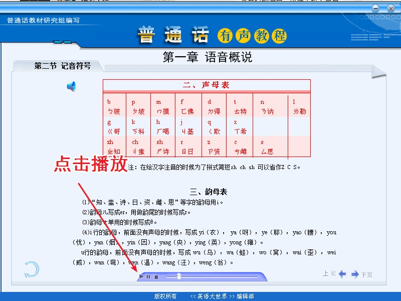 【淘宝售价8元】普通话训练教程 普通话学习视频课程